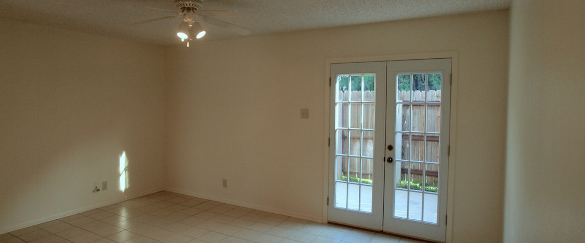 Dining Room with Backdoor